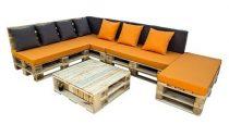 Raklap Bútor sarok ülőgarnitúra - Miami