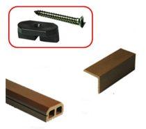 Standard WPC  klipsz és csavar