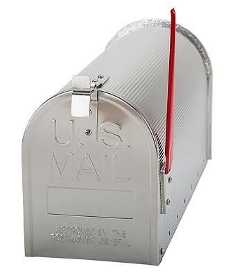 US MAILBOX alumínium postaláda
