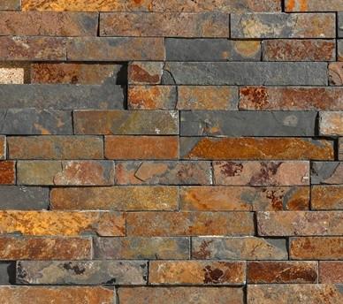 Rusty kőburkolat
