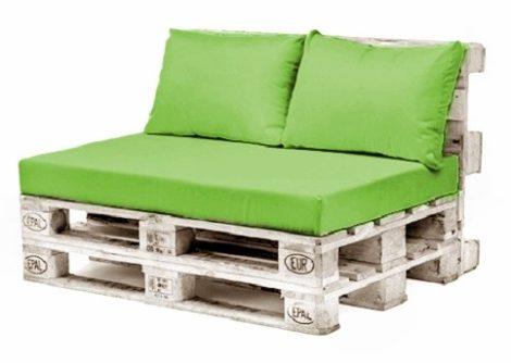 Raklap bútor - ülőpárna és 2 db. díszpárna szett - kültér