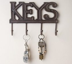 Modern fali kulcstartók