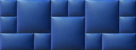 Kerma falvédő 67 kék
